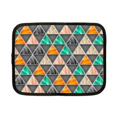 Abstract Geometric Triangle Shape Netbook Case (Small)