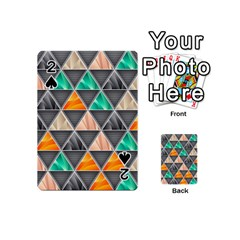 Abstract Geometric Triangle Shape Playing Cards 54 (mini)