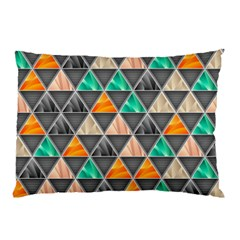 Abstract Geometric Triangle Shape Pillow Case (two Sides)