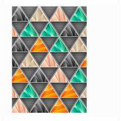 Abstract Geometric Triangle Shape Large Garden Flag (two Sides)