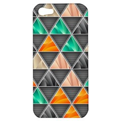 Abstract Geometric Triangle Shape Apple Iphone 5 Hardshell Case