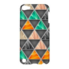 Abstract Geometric Triangle Shape Apple Ipod Touch 5 Hardshell Case