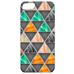 Abstract Geometric Triangle Shape Apple Iphone 5 Classic Hardshell Case