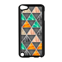 Abstract Geometric Triangle Shape Apple Ipod Touch 5 Case (black)