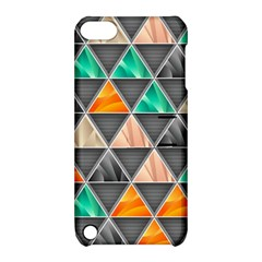 Abstract Geometric Triangle Shape Apple Ipod Touch 5 Hardshell Case With Stand