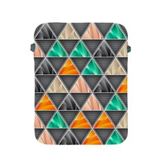 Abstract Geometric Triangle Shape Apple Ipad 2/3/4 Protective Soft Cases