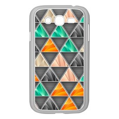 Abstract Geometric Triangle Shape Samsung Galaxy Grand Duos I9082 Case (white)
