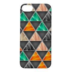 Abstract Geometric Triangle Shape Apple iPhone 5S/ SE Hardshell Case