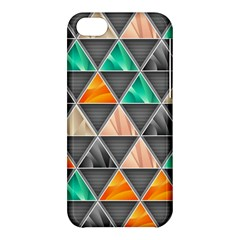 Abstract Geometric Triangle Shape Apple Iphone 5c Hardshell Case