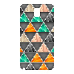 Abstract Geometric Triangle Shape Samsung Galaxy Note 3 N9005 Hardshell Back Case