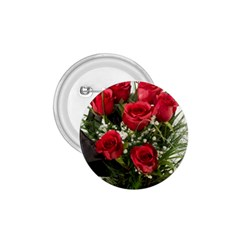 Red Roses Roses Red Flower Love 1 75  Buttons