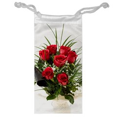 Red Roses Roses Red Flower Love Jewelry Bag