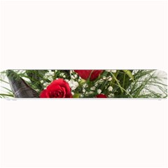 Red Roses Roses Red Flower Love Small Bar Mats