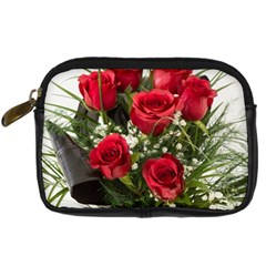 Red Roses Roses Red Flower Love Digital Camera Cases