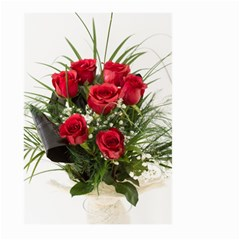 Red Roses Roses Red Flower Love Large Garden Flag (two Sides)