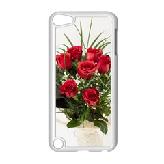 Red Roses Roses Red Flower Love Apple Ipod Touch 5 Case (white)