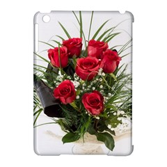 Red Roses Roses Red Flower Love Apple Ipad Mini Hardshell Case (compatible With Smart Cover)