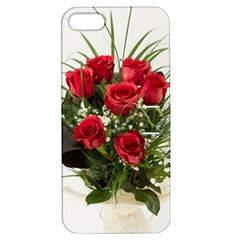 Red Roses Roses Red Flower Love Apple Iphone 5 Hardshell Case With Stand