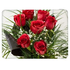 Red Roses Roses Red Flower Love Samsung Galaxy Tab 7  P1000 Flip Case