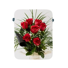 Red Roses Roses Red Flower Love Apple Ipad 2/3/4 Protective Soft Cases