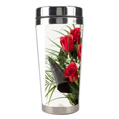 Red Roses Roses Red Flower Love Stainless Steel Travel Tumblers