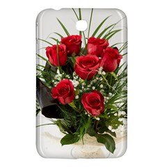Red Roses Roses Red Flower Love Samsung Galaxy Tab 3 (7 ) P3200 Hardshell Case