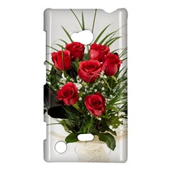 Red Roses Roses Red Flower Love Nokia Lumia 720