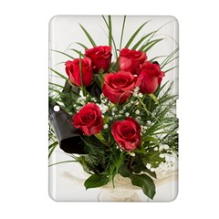 Red Roses Roses Red Flower Love Samsung Galaxy Tab 2 (10 1 ) P5100 Hardshell Case