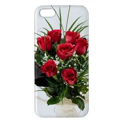 Red Roses Roses Red Flower Love Iphone 5s/ Se Premium Hardshell Case