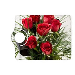 Red Roses Roses Red Flower Love Kindle Fire HD (2013) Flip 360 Case