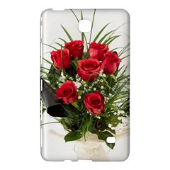 Red Roses Roses Red Flower Love Samsung Galaxy Tab 4 (7 ) Hardshell Case