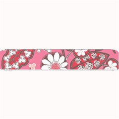 Flower Floral Red Blush Pink Small Bar Mats
