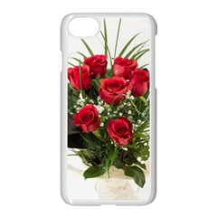 Red Roses Roses Red Flower Love Apple Iphone 7 Seamless Case (white)