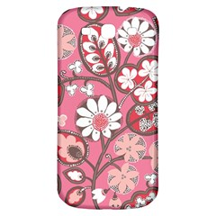 Flower Floral Red Blush Pink Samsung Galaxy S3 S III Classic Hardshell Back Case