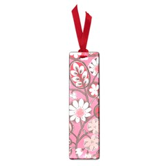 Flower Floral Red Blush Pink Small Book Marks