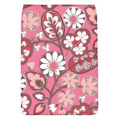 Flower Floral Red Blush Pink Flap Covers (s)