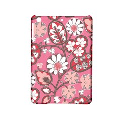 Flower Floral Red Blush Pink iPad Mini 2 Hardshell Cases