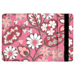 Flower Floral Red Blush Pink iPad Air 2 Flip