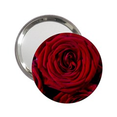 Roses Flowers Red Forest Bloom 2 25  Handbag Mirrors