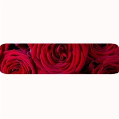 Roses Flowers Red Forest Bloom Large Bar Mats