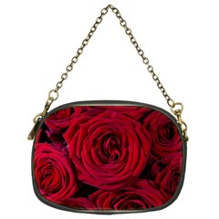 Roses Flowers Red Forest Bloom Chain Purses (one Side)
