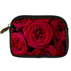 Roses Flowers Red Forest Bloom Digital Camera Cases
