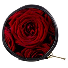 Roses Flowers Red Forest Bloom Mini Makeup Bags
