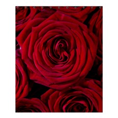 Roses Flowers Red Forest Bloom Shower Curtain 60  X 72  (medium)
