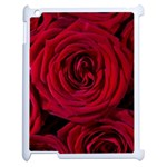 Roses Flowers Red Forest Bloom Apple iPad 2 Case (White) Front