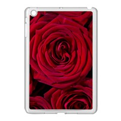 Roses Flowers Red Forest Bloom Apple Ipad Mini Case (white)