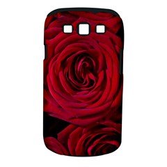 Roses Flowers Red Forest Bloom Samsung Galaxy S Iii Classic Hardshell Case (pc+silicone)