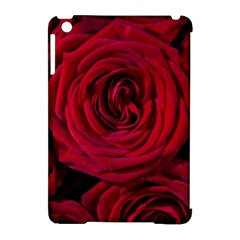 Roses Flowers Red Forest Bloom Apple Ipad Mini Hardshell Case (compatible With Smart Cover)