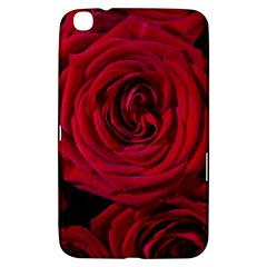 Roses Flowers Red Forest Bloom Samsung Galaxy Tab 3 (8 ) T3100 Hardshell Case