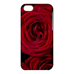 Roses Flowers Red Forest Bloom Apple Iphone 5c Hardshell Case